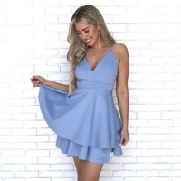 J'adore Skater Dress in Blue