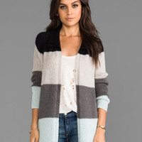 Free People Over The Rainbow Cardigan in Gray