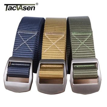 TACVASEN New Multicam Mens Army Military Tactical Belt Camouflage MOLLE Padded Waist Belt Men Airsoft Combat Belts Male SZNM-003
