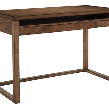 Baybrin Home Office Small Desk  - Rustic Brown