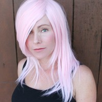 SPRING SALE //Cotton Candy Pink Wig //Straight by TiffanyDeMichele
