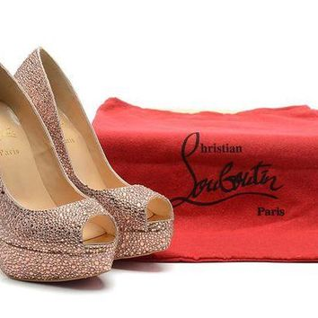 DCCK7J3 CHRISTIAN LOUBOUTIN Open Toe Heels Shoes