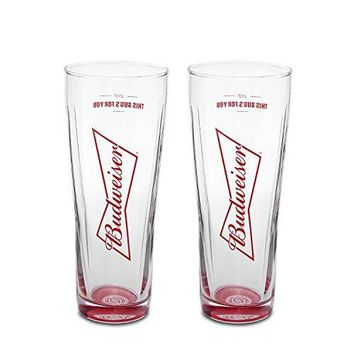 Budweiser Signature 2Pack Pint Set 20oz