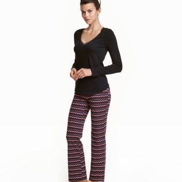 H&M Pajamas with Top and Pants $12.99