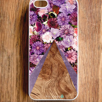 Tech Gifts - Accessories for iPhone - iPhone 5 Case - Floral Cases - Eco Friendly iPhone 5 Cover - iPhone 4 & 4S Case