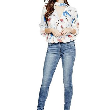 Curve X Skinny Jeans at Guess