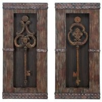 One Kings Lane - Stylish Accents - Keys Wall Decor Set