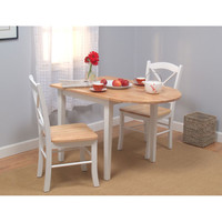 Dining Table Set 3 piece Simple Living