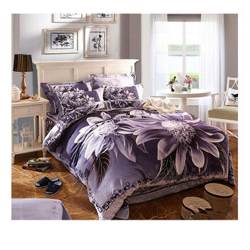 Cotton Active floral printing Quilt Duvet Sheet Cover Sets 2.0M/2.2M Bed Size 17