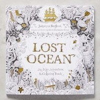 Lost Ocean by Anthropologie in Black Size: One Size House & Home