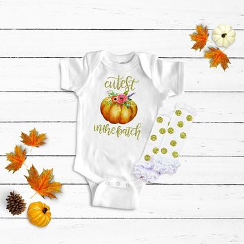 Cutest Pumpkin in the Patch Legwarmers Outfit
