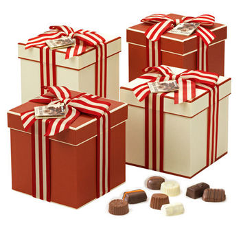 Kirkland Signature™ Luxury Belgian Chocolate Cube Box 4-pack