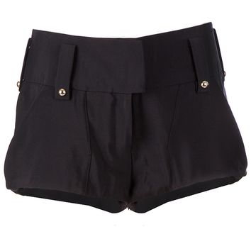 Anthony Vaccarello High Waisted Shorts