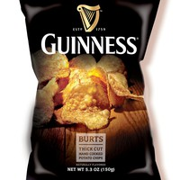 Burt's Guinness Original Thick Cut Potato Chips 5.3 Ounce