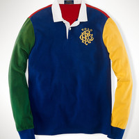 Custom-Fit Color-Blocked Rugby