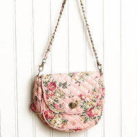 yorkshire estate floral cross body bag in pink - $29.99 : ShopRuche.com, Vintage Inspired Clothing, Affordable Clothes, Eco friendly Fashion