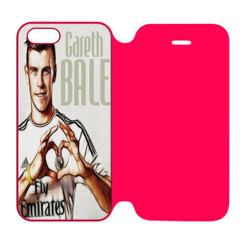 Gareth Bale 11 Caricature Real Madrid Fc iPhone 5 | 5S Flip Case Cover