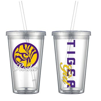 Tiger Acrylic Personalized Tumbler - Perfect Gift -Free Shipping