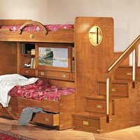 Wooden bedroom set 245 by Caroti