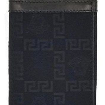Authentic Versace Unisex Medusa & Greek Key Credit Card Holder Wallet