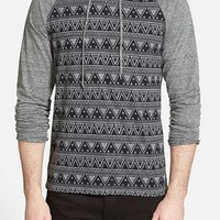 Men's The Rail Print Raglan Hoodie