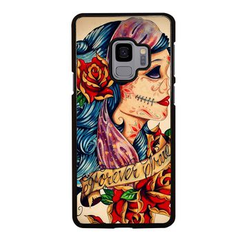 VINTAGE SUGAR SCHOOL TATTOO Samsung Galaxy S4 S5 S6 S7 S8 S9 Edge Plus Note 3 4 5 8 Case Cover