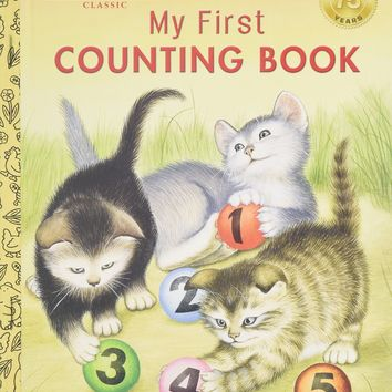 My First Counting Book (Little Golden Books)