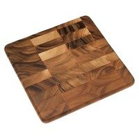"Lipper Acacia Square Chopping Block (13"")"