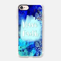 Have Faith iPhone 7 Capa by Li Zamperini Art | Casetify