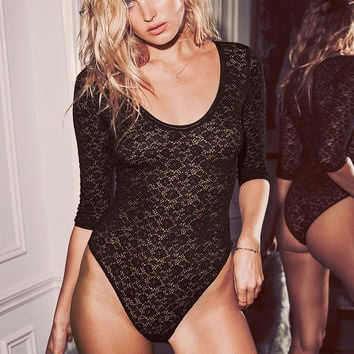 Animal Lace Bodysuit - Very Sexy - Victoria's Secret