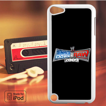 WWE Smackdown VS Raw 2009 iPod Touch 4 5 6 Case