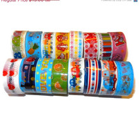 CYBERMONDAY Decorative Kawaii Tape Surprise Pack, 10 Rolls Bulk/Wholesale Lot