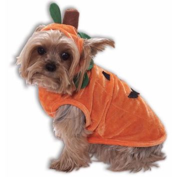 Orange Pumpkin Dog Cat Pet Costume - Walmart.com