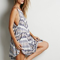 Free People Womens Fleeting Moment V Back Dress
