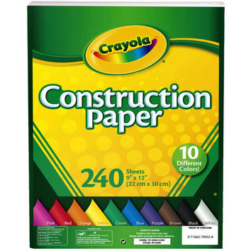 Crayola® Construction Paper