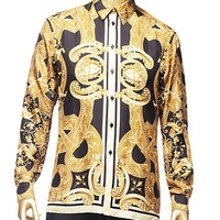 "Versace - ""New Barocco"" Printed Shirt"