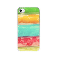 iPhone 4&4s Hard Case  Colorful Frozen by paperangelsphotos