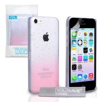 iPhone 5C Case Baby Pink / Clear Raindrop Hard Cover: Amazon.ca: Electronics