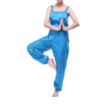 ESBON5U Women Sauna Suit Weight Loss Pants Sweat Suits Slimming Exercise Fitness Workout Clothes Diet