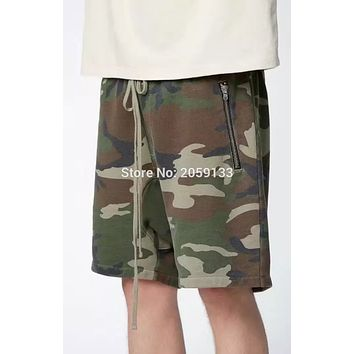 2017 new  Shorts Men Women High Quality Camouflage Camo Shorts Purpose Tour Brand Bermuda Casual Shorts Khaki black gray S-XL