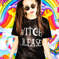 Witch Please Black Gothic T-Shirt