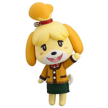 Animal Crossing New Leaf Nendoroid : Shizue (Isabelle) Winter Ver.