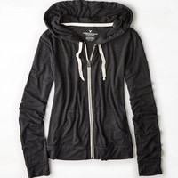 AEO Light Full-Zip Hoodie