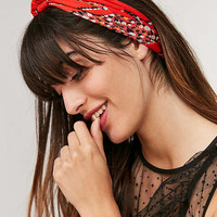 Ditsy Floral Cotton Bandana | Urban Outfitters