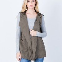 Hit the Town Hooded Vest