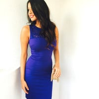 Mila Blue Dress