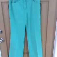 Escada Blue Pants Women's Size 8