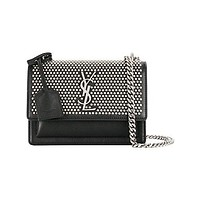 Saint Laurent Women's 470427D54361000 Black Leather Shoulder Bag
