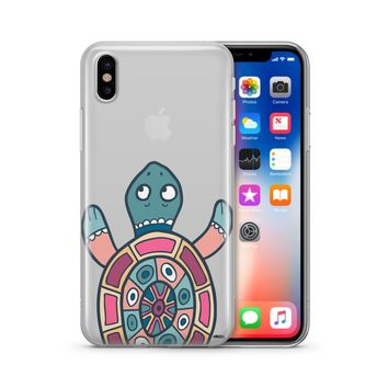 Turtle - Clear TPU Case Cover