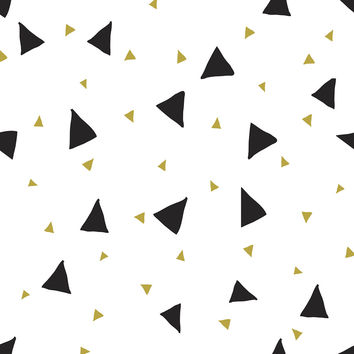 Confetti Triangles Removable Wallpaper